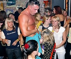 Amateur Girls at Male Stripper Party